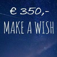 80 Make a wish broden verkocht!